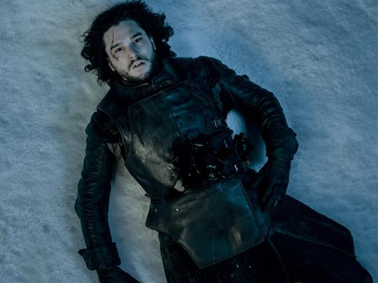 """In what appears to be the end of Jon Snow is an effect fans might not have noticed, said special effects supervisor Joe Bauer. """"As Jon Snow dies we digitally dilate his pupils. It was a detail in the script and we felt it should be in there."""""""
