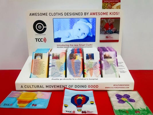 Screen cloth display