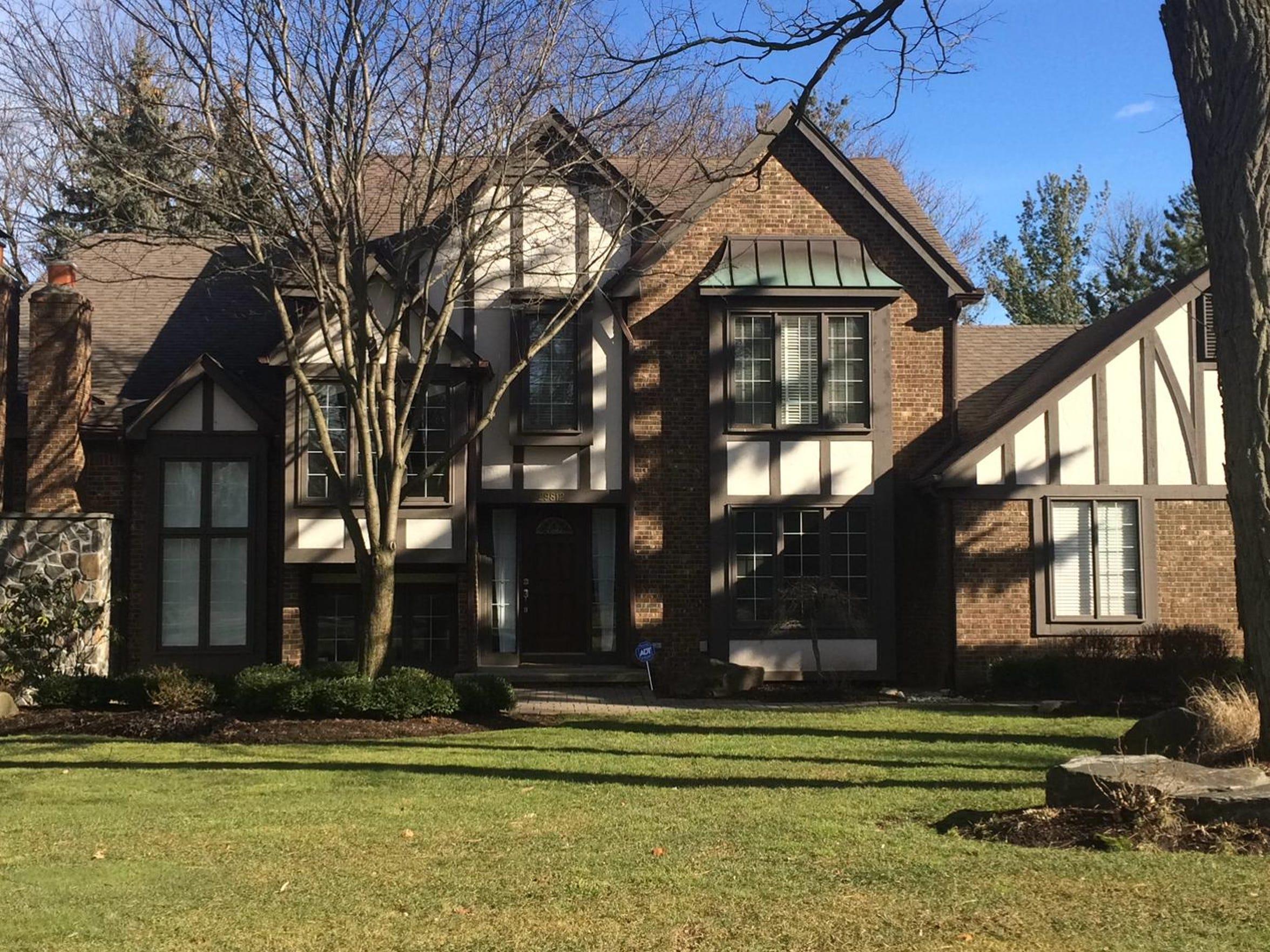 This is the Farmington Hills house where Bob and Nancy