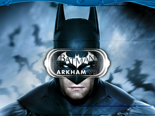 """Batman: Arkham VR"" will be a launch title for PlayStation VR ($400) when the new PS4-compatible hardware debuts Oct. 13."