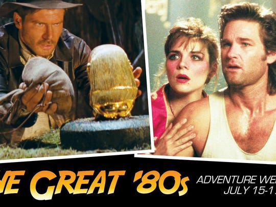 "The rad times are back at Robinson Film Center's Great 80s Adventure Weekend! See ""Raiders of the Lost Ark"" and ""Big Trouble in Little China"" on the big screen at various times this weekend."