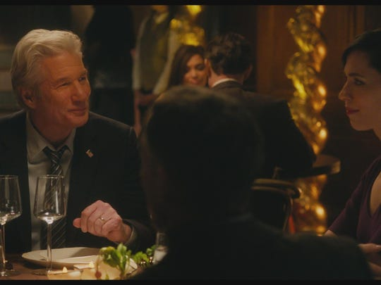 "Richard Gere and Rebecca Hall star in ""The Dinner."""