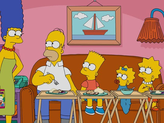 The Simpsons airs on Fox, but the company's production arm will be sold to Disney, raising questions about its future viability.