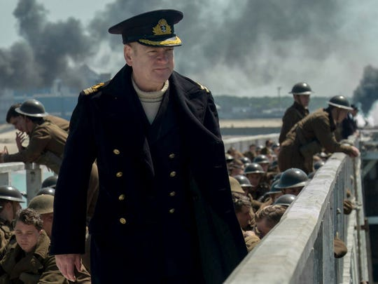 "Kenneth Branagh leads the large ensemble cast of ""Dunkirk,"" now on Blu-ray, DVD and various streaming sites."