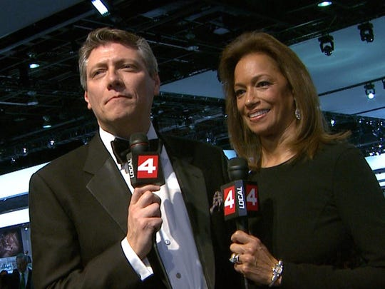 Devin Scillian and Carmen Harlan worked as co-anchors for 20 years at WDIV.