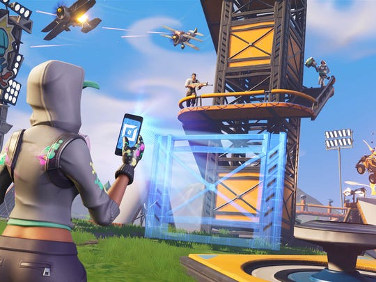 A screenshot from Epic Games' Fortnite.