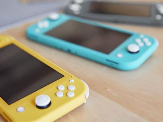 The Nintendo Switch Lite.