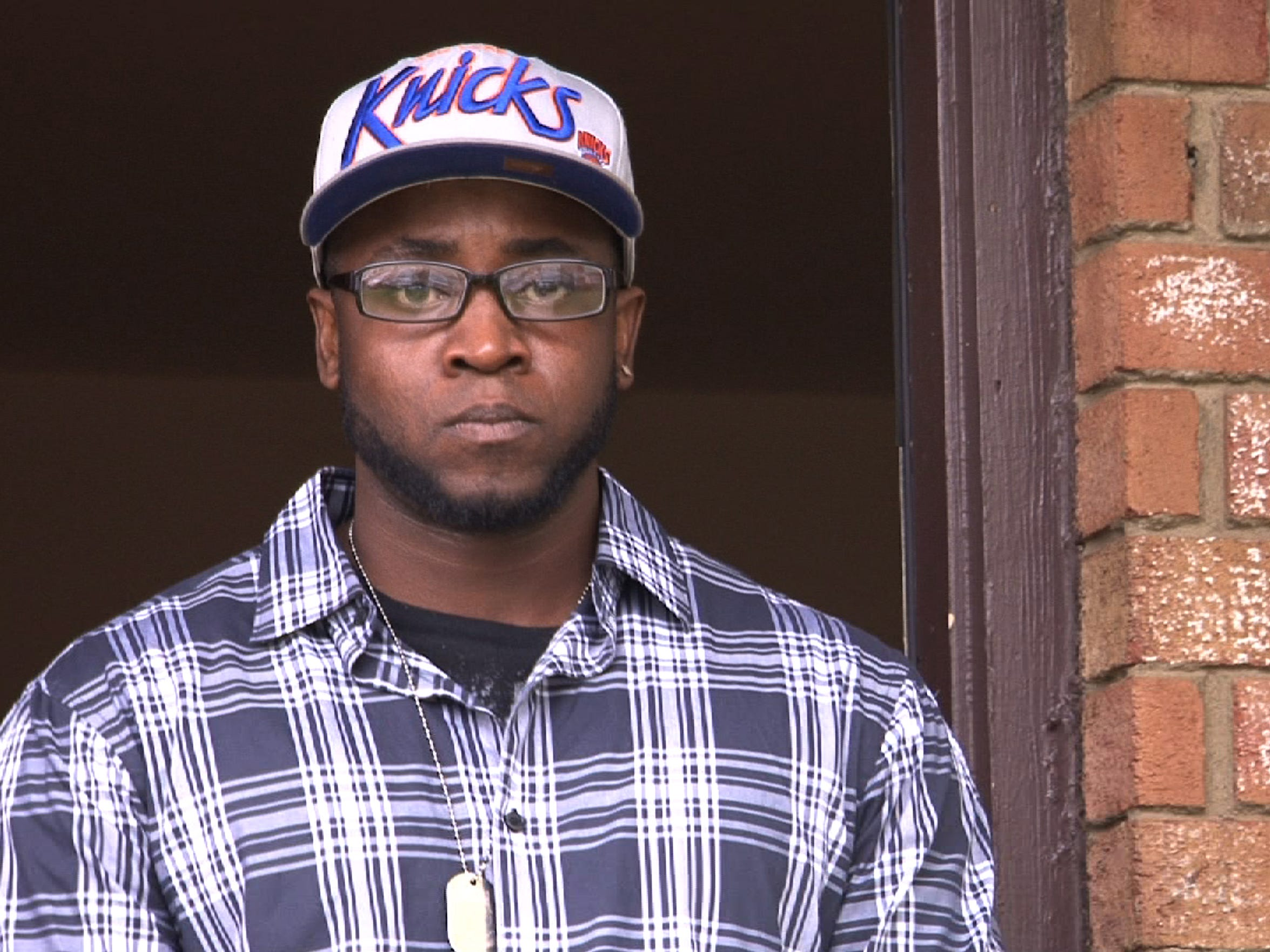 Army veteran Agifa Constable at home in Sayreville following treatment for PTSD in West Virginia.