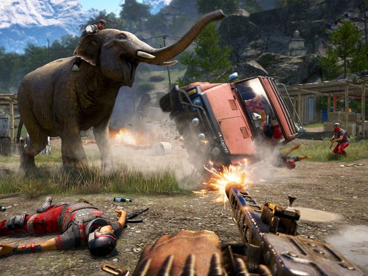 Game Review-Far Cry 4