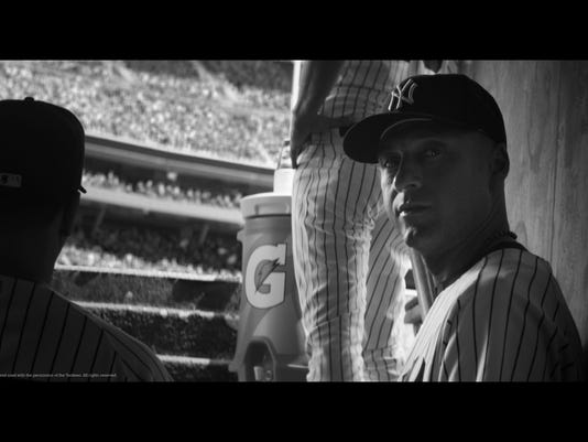 Jeter Ad Baseball