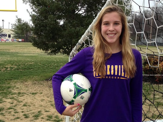 Clarksville High's Salera Jordan was the catalyst for the Lady Wildcats' undefeated march through the 2014 soccer season en route to a Class AAA state championship victory Nov. 1 in Murfreesboro. Jordan was named the All Area Soccer Player of the Year.