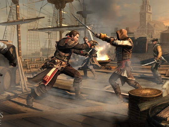 """""""Assassin's Creed Rogue"""" will be released November 2014."""