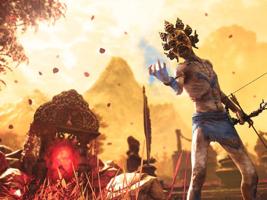 """Far Cry 4"" has some incredible sights, including the haunting Shangri-La."