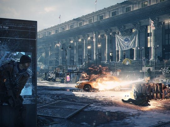 """Tom Clancy's The Division,"" set in post-pandemic New York City, tasks players with keeping the peace and protecting innocents from those who've taken advantage of the situation."