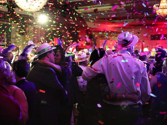 The Grand Ballroom at the Galt House Hotel is home to a New Year's Eve party every year.