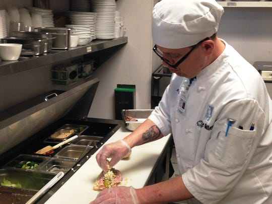 Nate Young, of Maryvsille, works at The Galley at St.