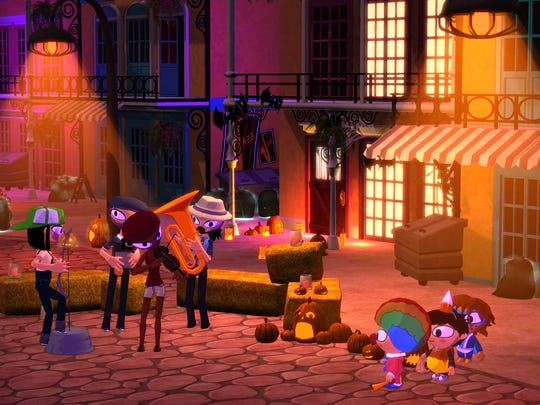 """The adorable cast returns to save Halloween and candy yet again in """"Costume Quest 2."""""""