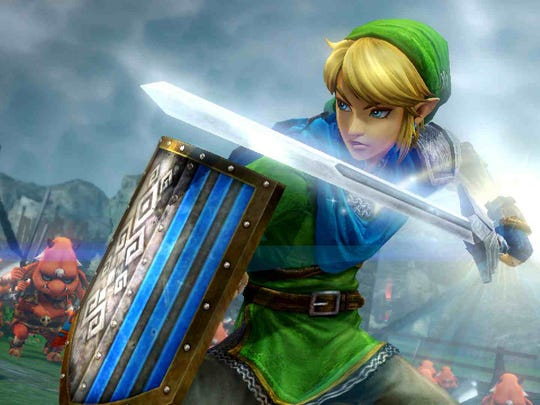 """The classic """"Dynasty Warriors"""" formula gets a Zelda touch in """"Hyrule Warriors."""""""