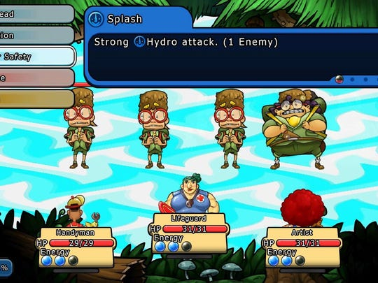 """""""Citizens of Earth"""" uses a classic RPG battle system with a twist."""