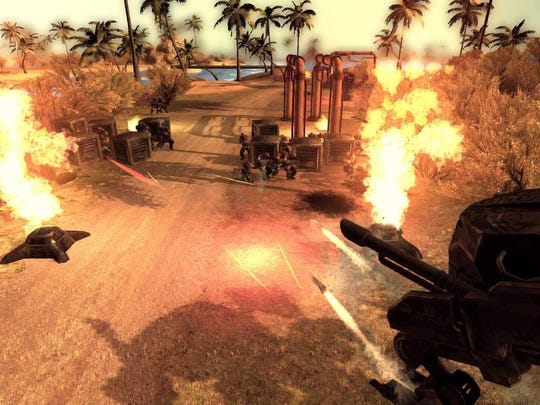 """""""Mechs & Mercs: Black Talons"""" is a real-time tactical game for the PC."""