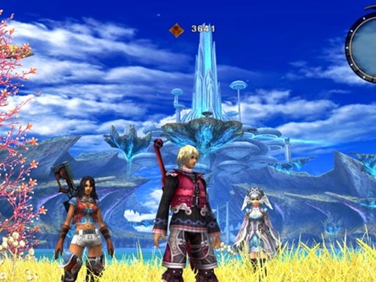 "An RPG classic gets remade for the Nintendo 3DS in ""Xenoblade Chronicles 3D."""