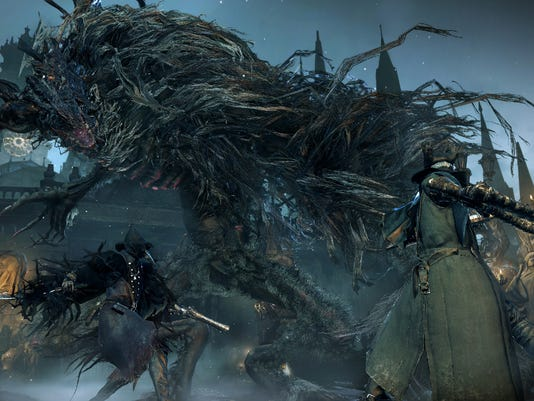 Game Review-Bloodborne