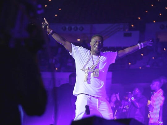 Boosie BadAzz is a rapper from Baton Rouge  performing