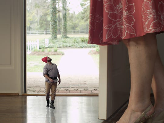 A garden gnome gets more than he bargained for when he meets a determined housewife in one of the Florida State student films being shown on Saturday at Ruby Diamond Concert Hall.