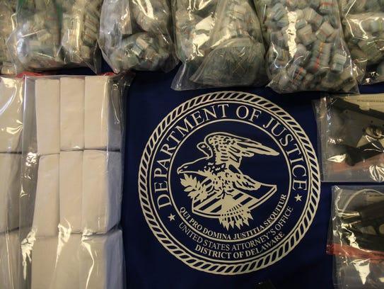 Delaware makes the largest seizure of prepackaged heroin,