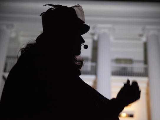 Thea Lewis of Queen City Ghostwalk tells ghost stories