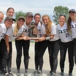 Kist lifts South Lyon East to district softball title