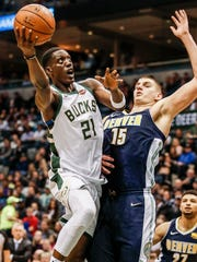 After signing a four-year, $48 million deal last summer, Tony Snell's numbers fell in his second season with the Bucks as he faded into a lesser role over the course of the campaign.