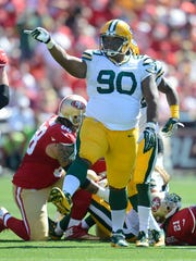 B.J. Raji is moving back to his natural position at nose tackle.