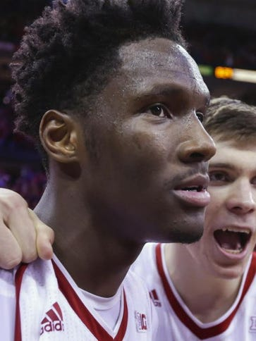 Nigel Hayes has withdrawn his name from the NBA Draft
