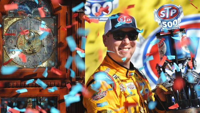Kyle Busch finally broke through at Martinsville Speedway, sweeping the weekend's races.