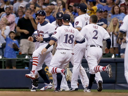 Minnesota Twins v Milwaukee Brewers