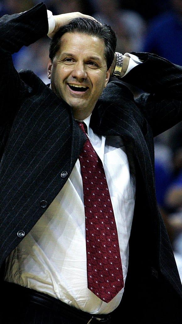 March 14, 2008 - Memphis' J head coach John Calipari