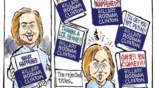 Hillary's new memoir