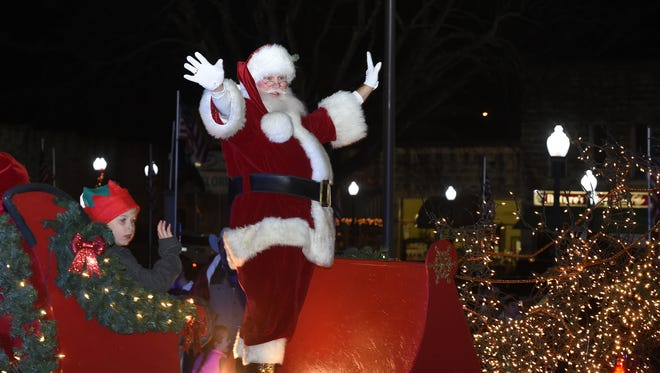 Santa Claus is coming to town for Mountain Home's annual Christmas parade, but he's also bringing an entire downtown festival with him this year. The Mountain Home Town Christmas Festival on the downtown square will be held Friday, Dec. 6, from 4 p.m. to 8 p.m., with the annual parade being held at 6 p.m.