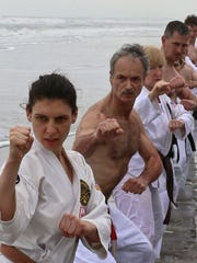 students from Ueshiro Shorin-Ryu Karate USA