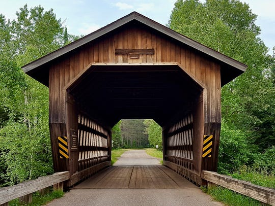 The Smith Rapids Covered Bridge was built in 1991 across
