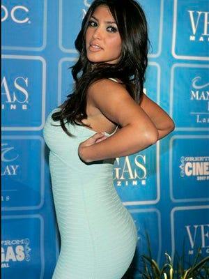 kim kardashian butt evolution