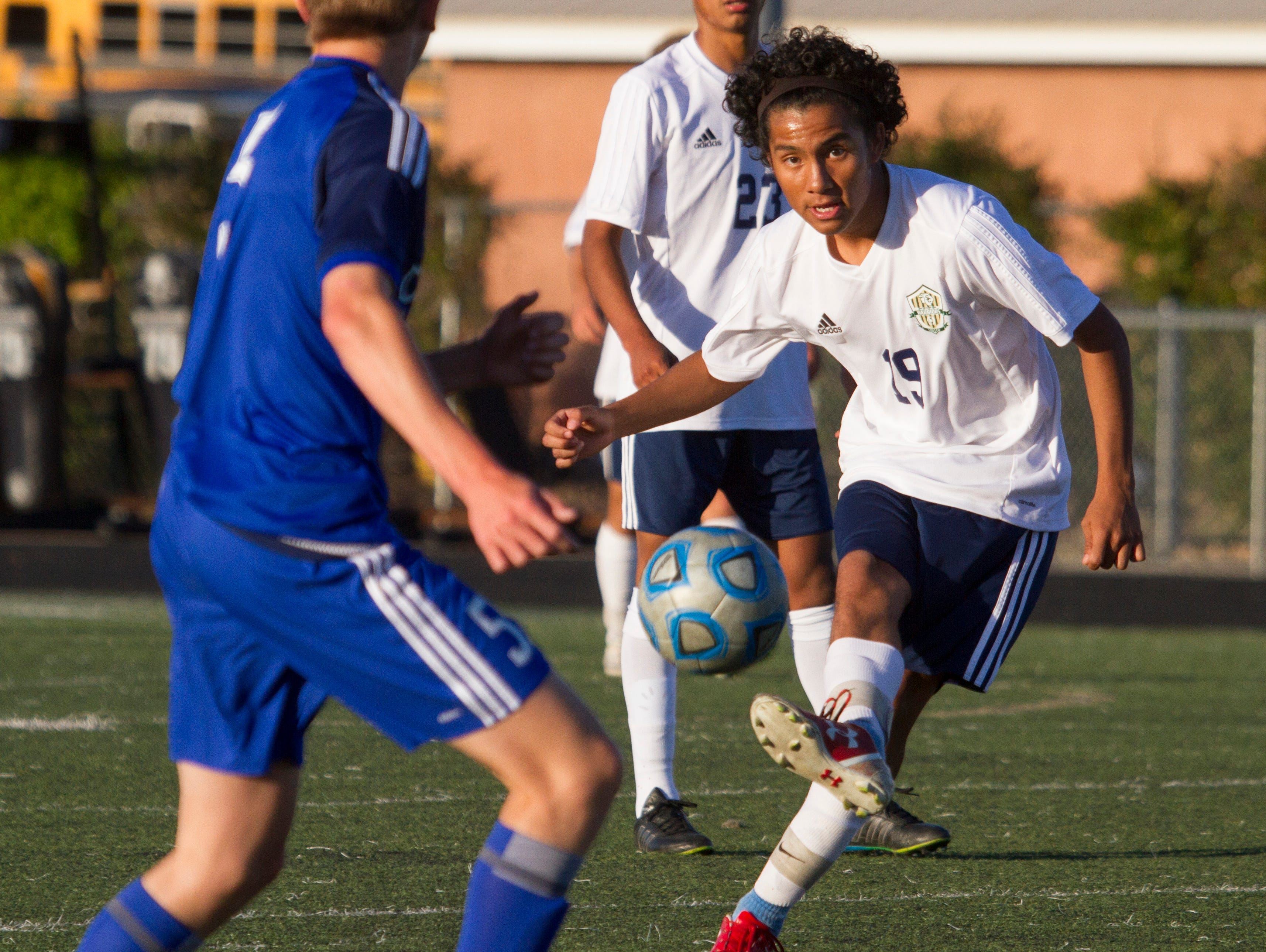 Undefeated teams Snow Canyon and Dixie face off Tuesday, April 12, 2016.