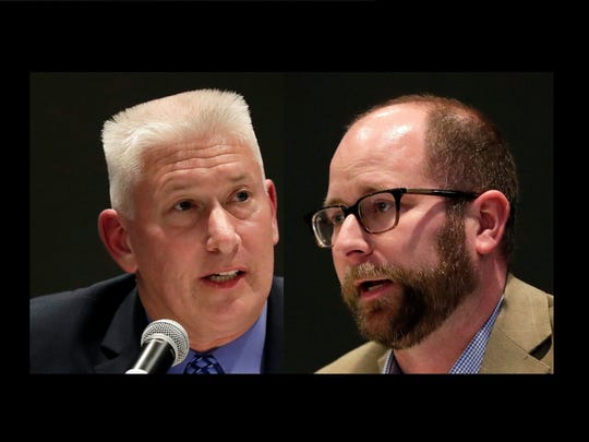 Patrick Buckley (left) and Eric Genrich.