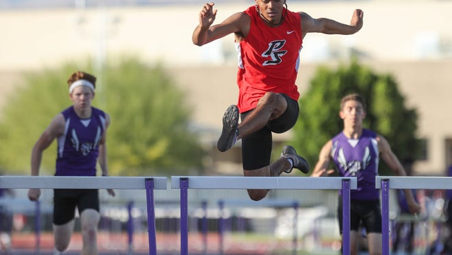Chai Brown won three events Thursday night to lift the Indians to a second straight DVL title.