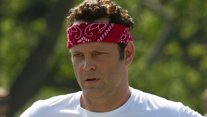 Vince Vaughn in a scene from 'The Internship'