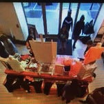 Murfreesboro police are searching for the thieves who took more than $9,000 worth of goods from Victoria's Secret on Saturday afternoon. Anyone with information is encouraged to call Rutherford County Crime Stoppers at 615-893-STOP (7867).