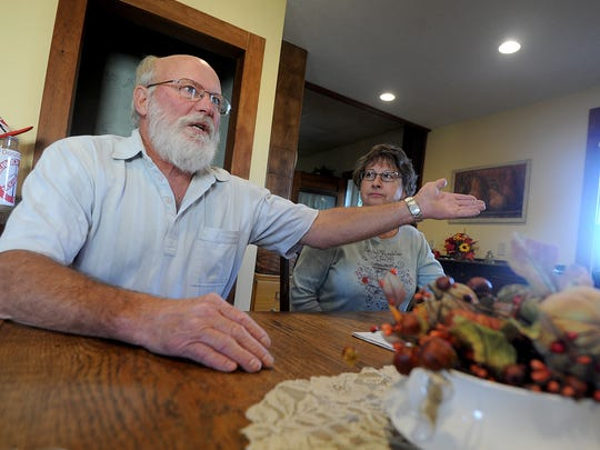 Kevin and Marcia Ledet of Greenwich, Ohio, discuss the negative effects not often addressed by the wind turbine farm advocates.