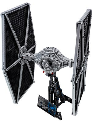 A new collector's LEGO TIE Fighter debuts in May.