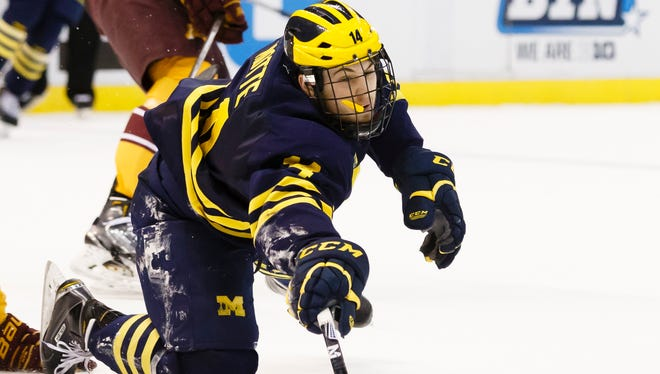 Michigan's Tyler Motte